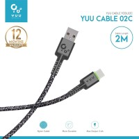 YUU CABLE DATA USB-A TO TYPE-C (2 METER) – YCBL02C