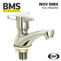 AER Kran Air Dingin Kuningan Wastafel Basin Faucet Brass WOV 09BX