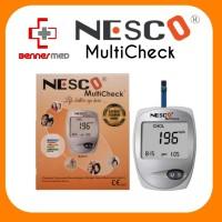 Alat Nesco Multicheck 3In1 GCU Tes Gula Darah, Kolesterol & Asam Urat