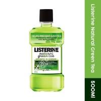 Listerine Mouthwash Natural Green Tea 500Ml