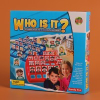 New Who Is It Classic Board Game Funny Family Guessing Games Kids