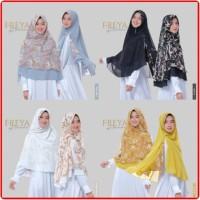 Khimar Motif / Jilbab Instan / Hijab Syari - Freya Khimar Audina