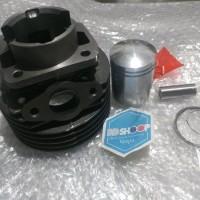 blok seher standar vespa pts 100cc import kondisi baru accessori