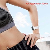 42mm S Strap Silikon Pengganti untuk Apple Watch