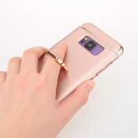 3-in-1 Case Pelindung Bahan Metal untuk Samsung Galaxy S8 Plus