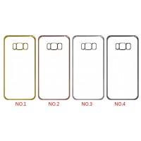 Case Cover Pelindung Frame Transparan untuk Samsung Galaxy S8 Plus