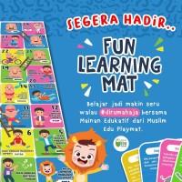 Mainan Edukasi   Muslim Edu Palymat - Fun Learning Mat  New Release