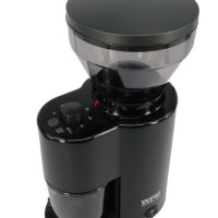 Welhome Coffee Grinder Conical Burr with Timer ZD-10 Black PREMIUM