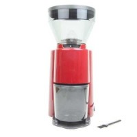 Welhome Coffee Grinder Conical Burr ZD-10RD Red PREMIUM