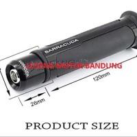 Discount Handfat Barracuda Karet Handle Grip + Bandul Jalu Stang Motor