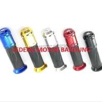 Paling Laris Handfat Rizoma Cnc Karet Handle Grip Motor Universal