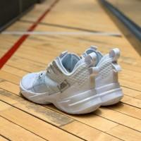 Ginamall Jordan Why Not Zero 3 Triple White Sepatu Basket Pria Unisex