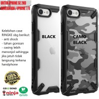 Case iPhone SE 2 / iPhone 7 / iPhone 8 Rearth Ringke Fusion X Original