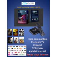 SVI Cloud Indonesia Model 3S, Android Box 7.0 6K 2G/16G 9CORE WIFI+BT