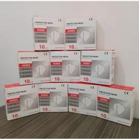 Masker N95/ Masker Medis KN95 Grade / Medical Mask Earloop 1BOX 10 pcs