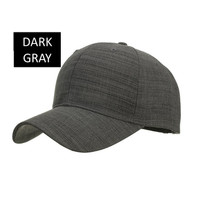 Baseball cap : QUICKY - Topi Baseball Topi Golf Topi Polos - DARK GRAY