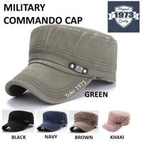 Military cap COMMANDO - Baseball cap Topi militer Topi Army Topi Baseb