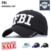 Baseball cap : FBI - Topi Baseball