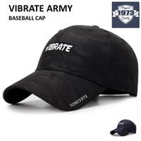 Baseball cap : VIBRATE ARMY - Topi Baseball Topi Sport Topi Snapback