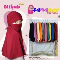 Hijab Niqob Anak Kids terbaru khimar anak / hijab anak / hijab instan