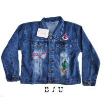 Jaket Jeans Anak Perempuan - 4