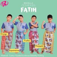 Celana Sarung Anak Karakter + Rocella Cesar Kids Fatih + Original Bran