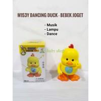 M153Y Dancing Duck / Bebek Joget Dance / Pajangan Mainan Music LED