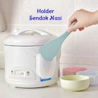 Holder Centong Sendok Nasi Gantung Rice Spoon Holder Rice Cooker Magic