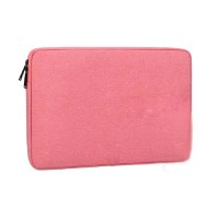 Tas Laptop Softcase Waterproof Nylon High Quality 13 inch - pink