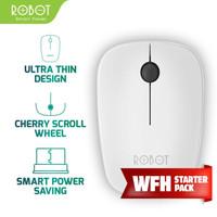 Robot Mouse Wireless Optical M220 2.4G original resmi