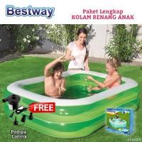 Kolam Renang Anak Bestway Rectangular Besar Bestway