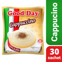 Kopi Good Day Cappucino Bag isi 30 sachet BPOM RI