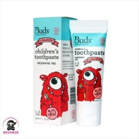 BUDS Organics Childrens Toothpaste 1 to 3 Tahun Strawberry 50 ml