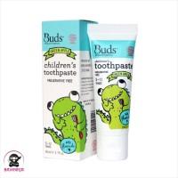 BUDS Organics Childrens Toothpaste 3 to 12 Tahun Green Apple 50 ml