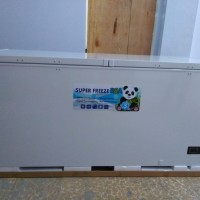 chest freezer CF-600 kulkas pembeku Frozen food 600 liter RSA