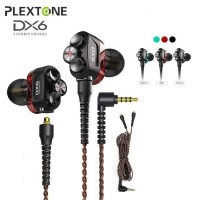 PLEXTONE DX6 Gaming Earphone with Mic 3 Hybrid Driver / Earphone Game