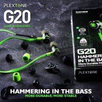 Earphone PLEXTONE G20 In-Ear Gaming Headset Stereo Bass Headphone