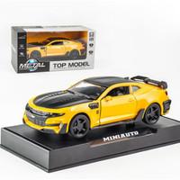 Chevrolet Camaro Bumblebee Miniatur Mobil Transformer diecast 1:32 ori