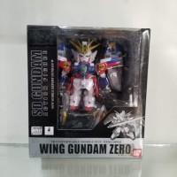 Mainan action figure Wing gundam zero Sd gundam New mobile report gund