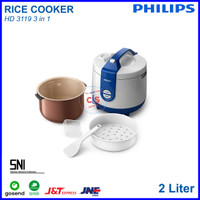 Magic com rice cooker PHILIPS HD 3119 / HD3119 2 Liter 3in1