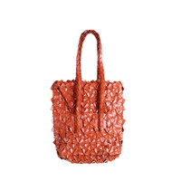 Byo Leather - Tall Bag in Saddle Brown