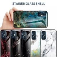 CASE VIVO V19 Tempered Glass Sofcase Silicone Frame Hard
