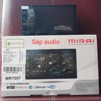 Head unit MIRAI MR7557 android 7 inch double din mirai MR7557