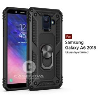 Hard Case Samsung Galaxy A6 2018 Ring ARMOR Kickstand Hybrid