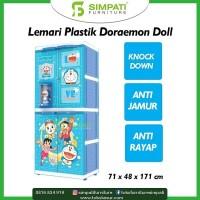 Lemari Plastik Doraemon Doll Gratis Ongkos Kirim