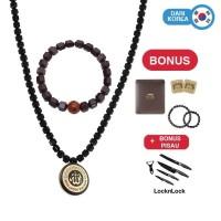 [BIG CASHBACK] AL ATTAR Health Necklace (Kalung Kesehatan) 4+4 Set