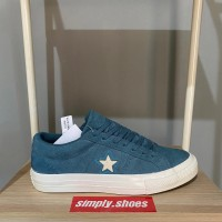 CONVERSE ONE STAR OX CELESTIAL TEAL PREMIUM HIGH QUALITY