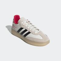 Sepatu Pria Adidas Samba RM Originals Running White/Black Energy Pink - 10