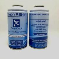 FREON KULKAS KALENG R134A ONE COOL 390 GR (LAMPAUI KLEA DAN BAILIAN)