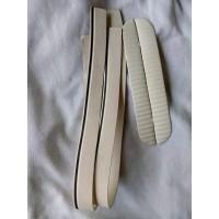 midsol midsole sepatu vans converse sneakers foxing putih strip hitam